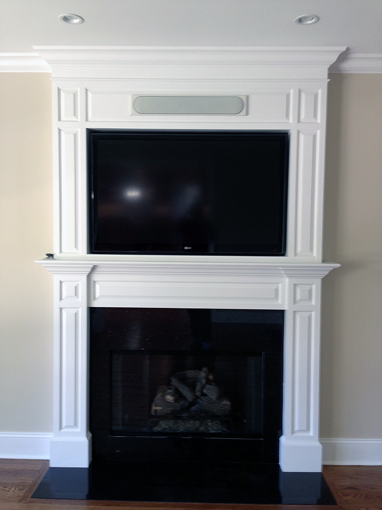 How To Mount Tv Above Fireplace